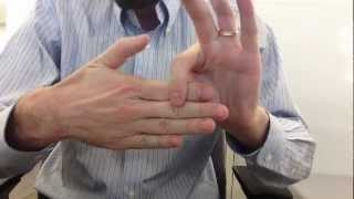 Mr. Sucro's Removable Finger Trick