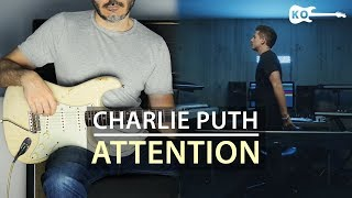 Charlie Puth - Attention - Electric Guitar Cover by Kfir Ochaion