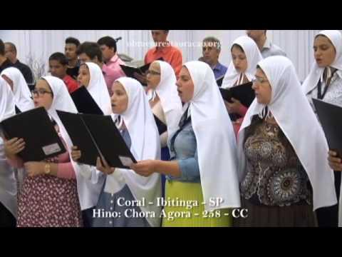 Coral - Ibitinga - SP - Hino: Confessa Agora - 258 - CC