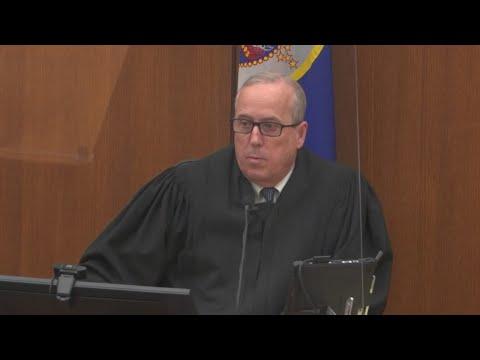 Judge Cahill denies defense request for acquittal in Derek Chauvin Trial   FOX 9 KMSP