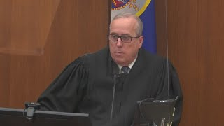 Judge Cahill denies defense request for acquittal in Derek Chauvin Trial | FOX 9 KMSP
