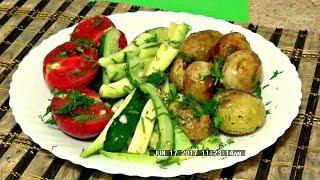 Малосольный салат вкусно легко и просто