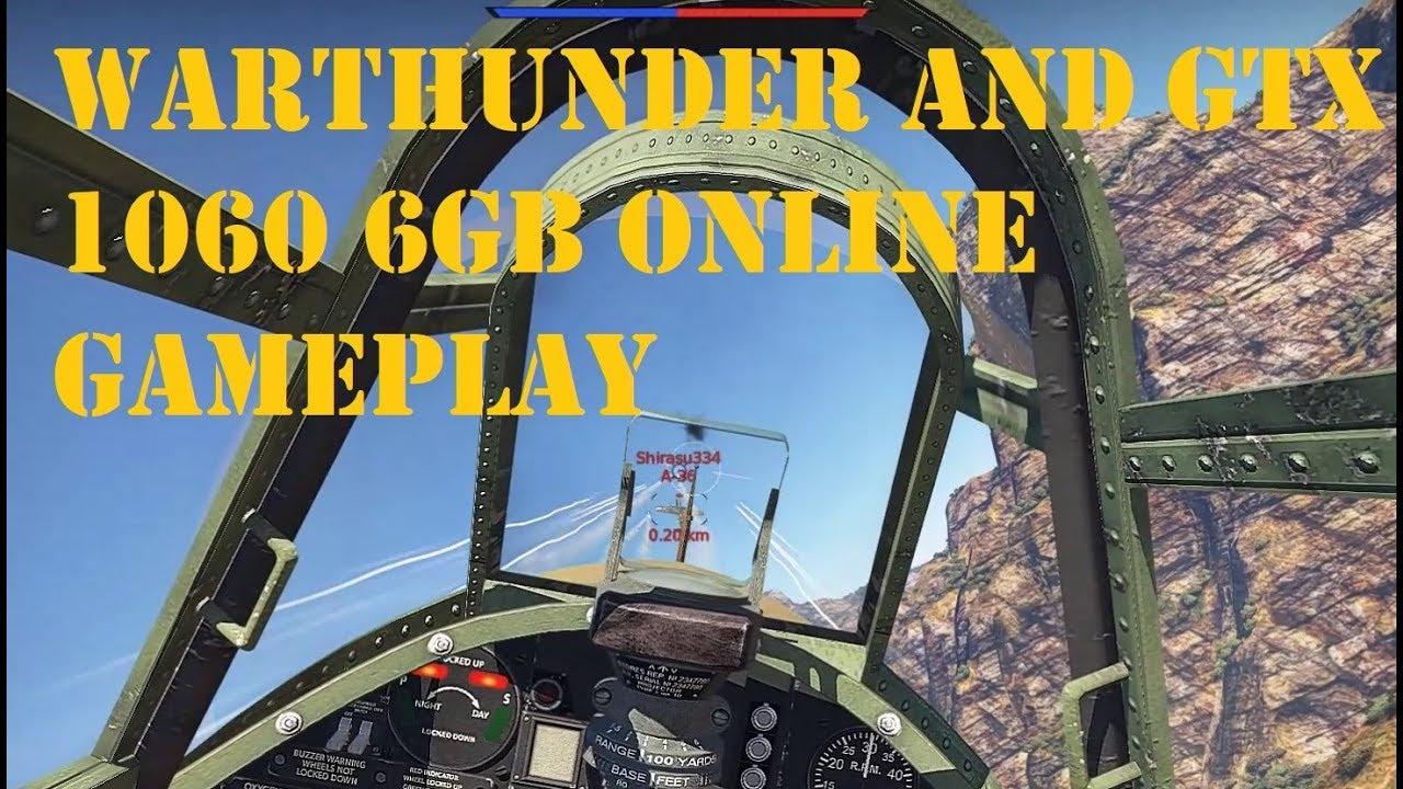 war thunder gtx 1060