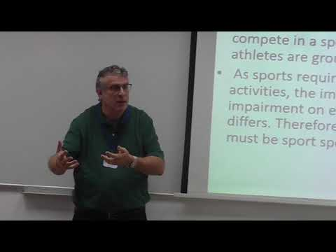 The 3rd Israel Seminar on Disability and Adapted Sport: Paralympic Sport- Opening Address