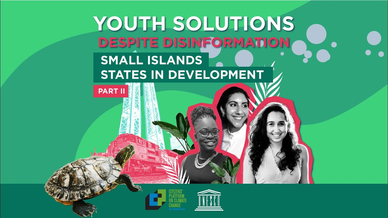 Youth Solutions in Small Islands States in Development - part 2