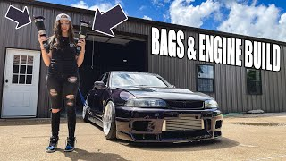 homepage tile video photo for R33 MAKES A HUGE COMEBACK! Bags & 700+whp ENGINE BUILD!