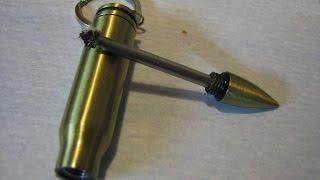 Обзор товара из Aliexpress: вечная спичка (огниво) в виде пули с гильзой