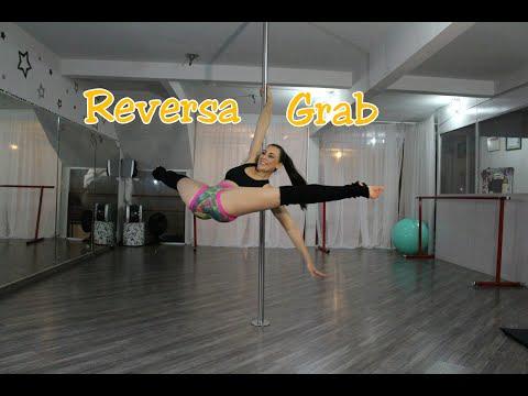 Reversa Grab -Tutoriais de Pole Dance por Alessandra Rancan