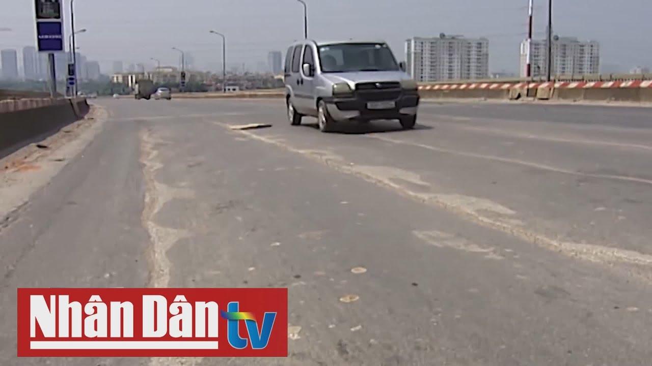 Cầu Thăng Long được sửa chữa bằng công nghệ tối ưu