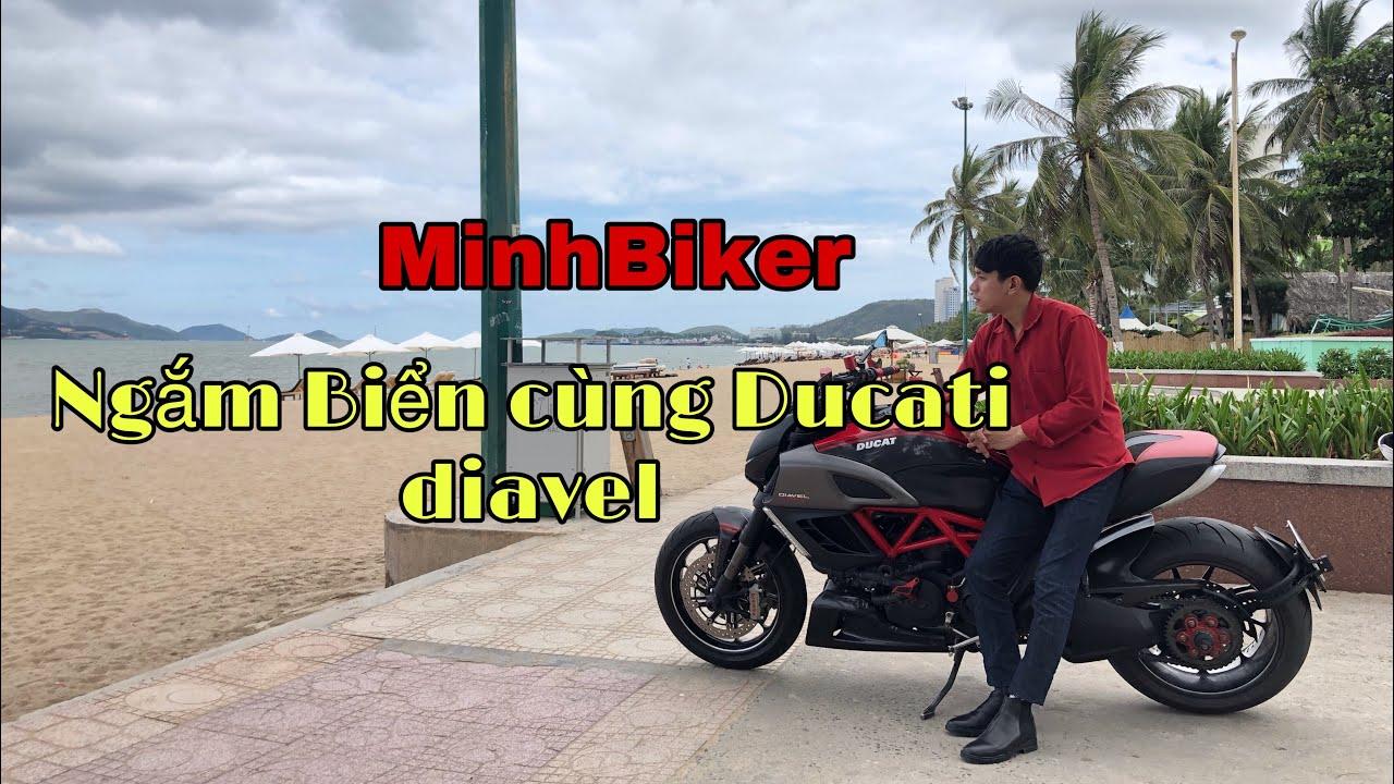 Ngắm thành phố biển Nha Trang với moto DUCATI DIAVEL   MinhBiker