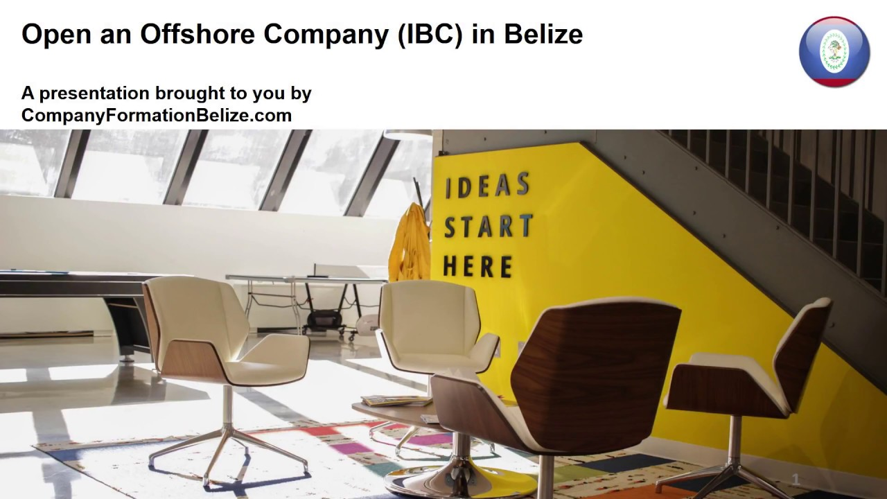 Open an Offshore Company (IBC) in Belize