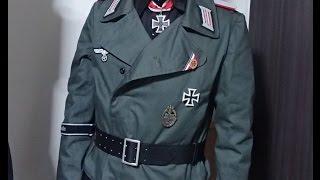 ドイツ軍装備 初心者向け講座 ジャケット編 ~突撃砲兵~ ナチス酷似旗 検索動画 14