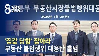 '집값 담합' 잡아라…부동산 불법행위 대응반 출범 / …