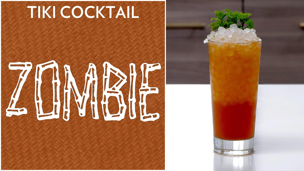 Tiki Cocktail Zombie 1934 Youtube