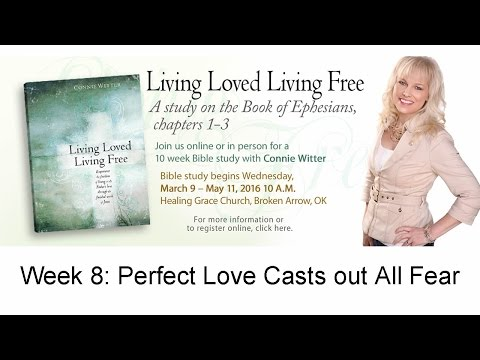 8) Living Loved Bible Study with Connie Witter & Because of Jesus Ministries