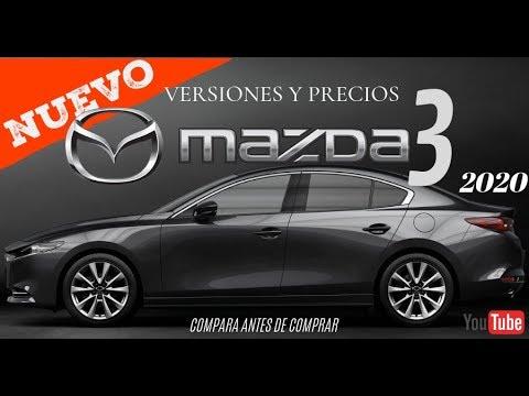 NUEVO MAZDA 3 2020 VERSIONES Y PRECIOS¡¡¡