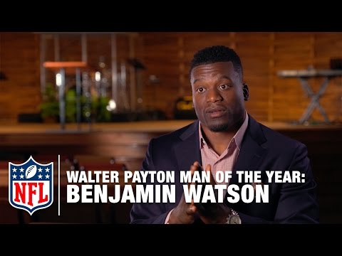 Walter Payton Man Of The Year Finalist : Benjamin Watson | NFL