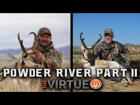 Powder River - Bow Hunting Montana Antelope!! | The Virtue TV S4//E16