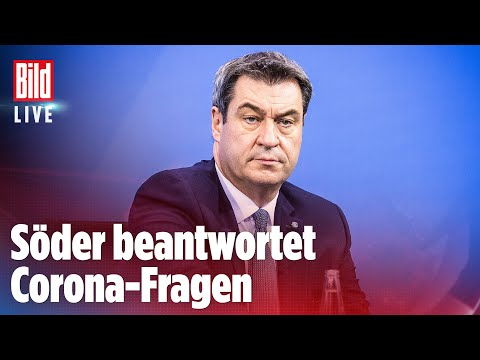🔴Markus Söder LIVE über Merkels Corona-Pläne und Reise-Regeln | BILD Live