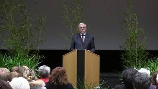 Le Maire d'Avallon a présenté ses vœux 2020 à la population.