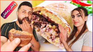 فطورنا اليوم أكلة ريتشو المفضلة شوفوا شو عمل 😱 مطبخ ريتشو وننوش في رمضان والأكشن الزوجي👊🤣