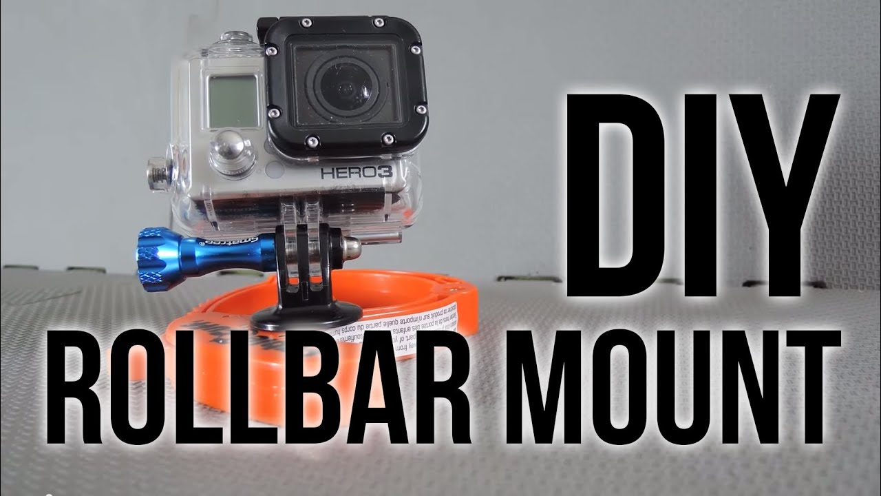Gopro Roll Bar Mount >> Diy Rollbar Mount Gopro Tips And Tricks Youtube