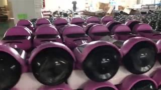 Завод гироскутеров в Китае | Масштаб поражает