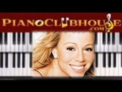 How to play JESUS WHAT A WONDERFUL CHILD - MARIAH CAREY (easy piano tutorial lesson)