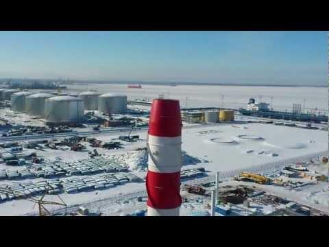 Стройплощадка в Усть-Луге