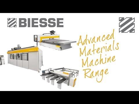 Biesse Advanced Materials Machine Range