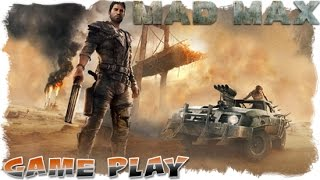Mad Max - Oil Transfer Camp - Sand Sifter - Gameplay.