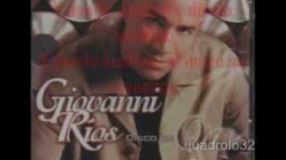 Giovanni Rios con las 7 vueltas karaoke
