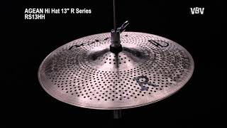 "13"" Hi Hat R Series - Silent Cymbal video"