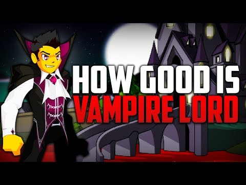 How Good Is Vampire Lord? (AQW Enhancements, Class Guide, And Review)