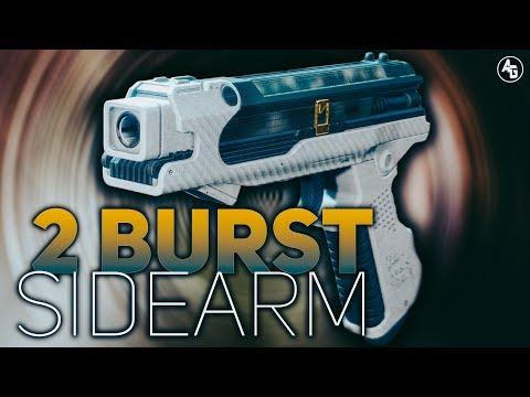 Smuggler's Word (2 Burst Sidarm) | Destiny 2 Forsaken