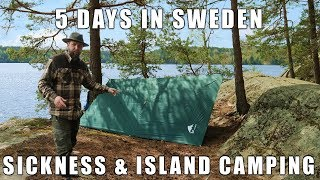 5 Days in Sweden - Sickness and Island Camping