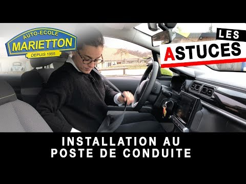 Marietton Astuces - Installation au poste de conduite par Julie
