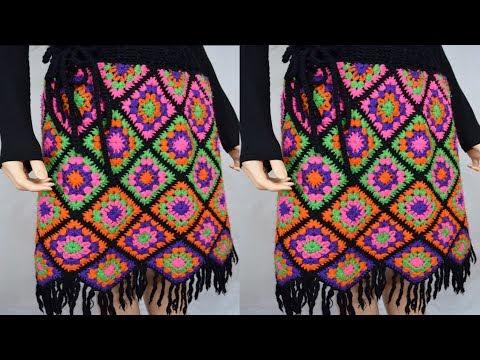 Modernas faldas en ganchillo/faldas a crochet