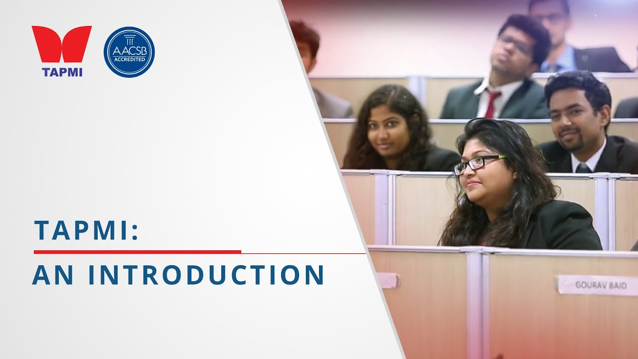 TAPMI Introduction Video