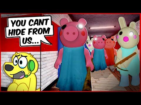 PEPPA INVASION! Roblox PIGGY Funny Moments 3