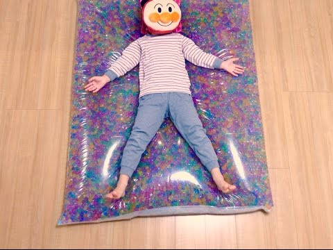 DIY Orbeez Bed !! , Made with Orbeez and Water Beads