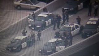 SWAT Standoff On San Diego Freeway; Murder/Kidnapping Suspect Wanted From AMBER Alert