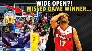 "PBA ""WIDE OPEN"" MISSED GAME WINNER"