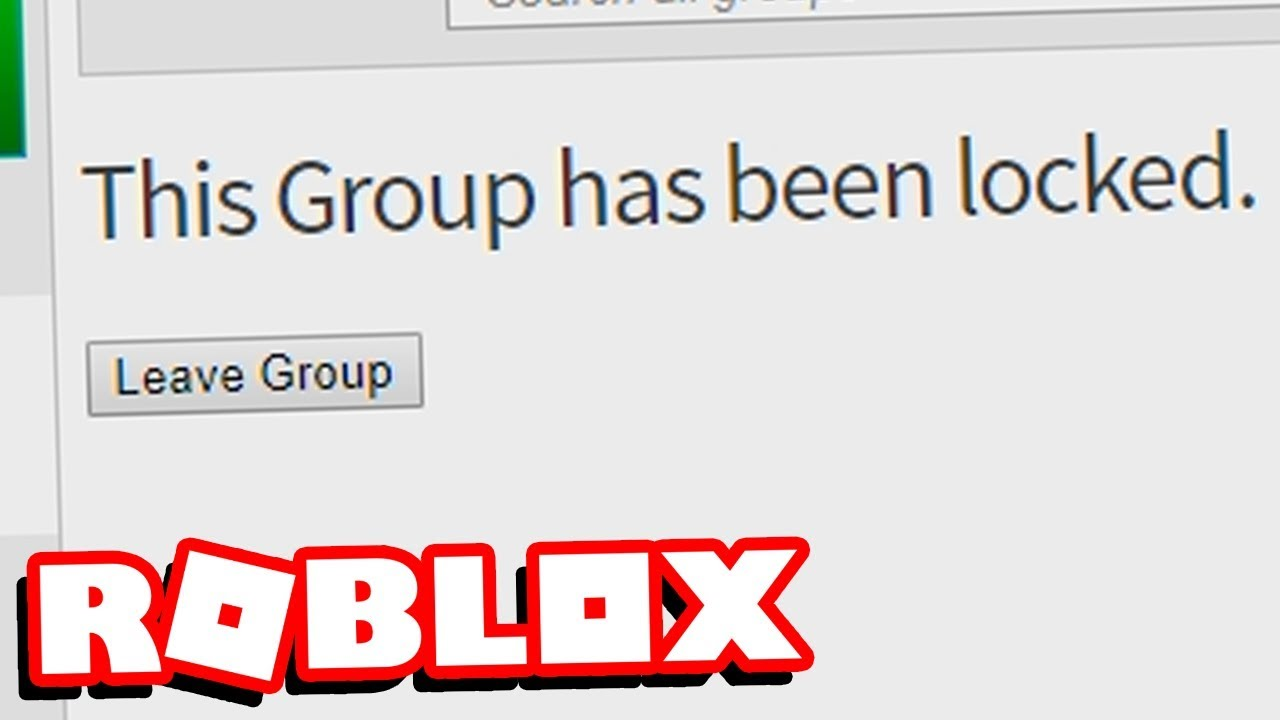 Roblox Deleted And Banned My Group Youtube