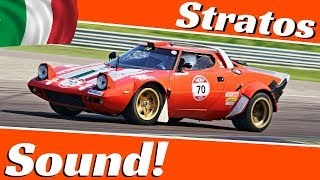 Lancia Stratos Gr4 Rally Specs - EPIC V6 Sound & Actions - Modena 100 Ore Classic 2018