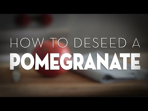 How To Deseed A Pomegranate Without Making A Huge Mess