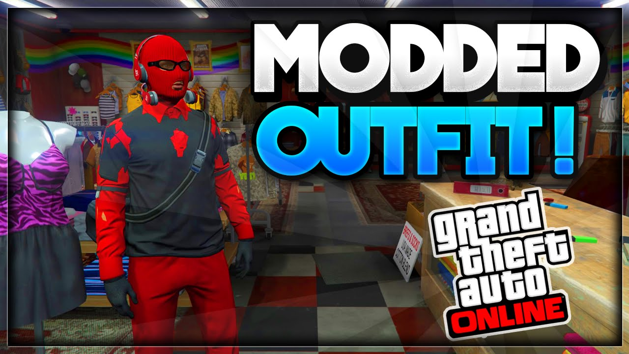 GTA 5 Online - How to Create MODDED OUTFITS using Clothing Glitches *After Patch 1.35* #3 - YouTube