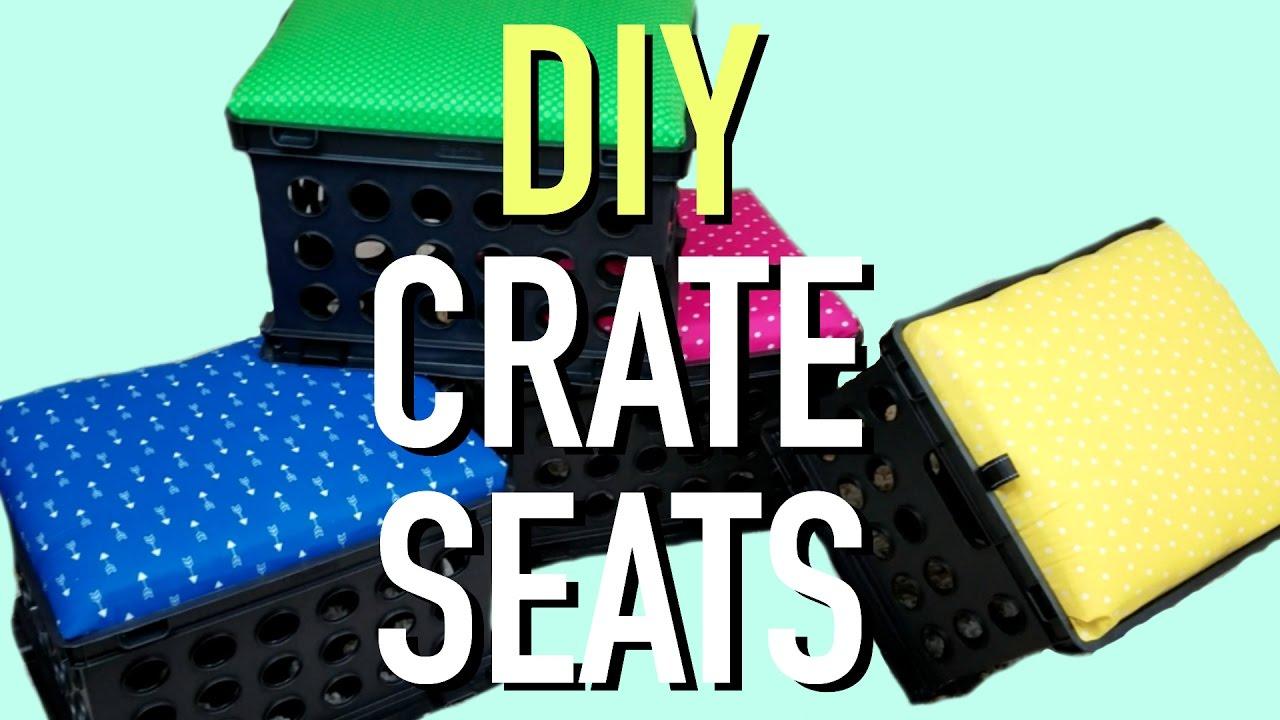 diy crate seats a classroom diva