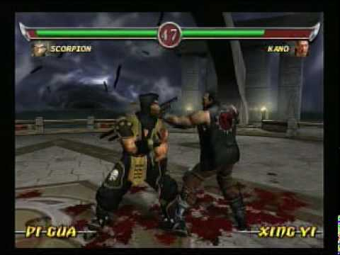 Mortal Kombat Deadly Alliance - Gameplay - Playstation 2
