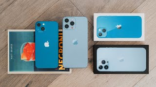 iPhone 13 & 13 Pŗo Unboxing & Overview (All Models)